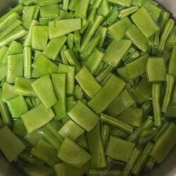 Cómo escaldar la verdura para Congelar
